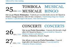 "Locandina ""Chianti in Musica 2018"""