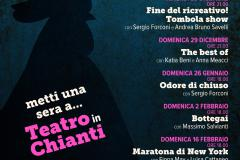 Locandina Teatro in Chianti