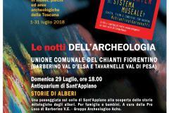 """Locandina """"Le notti dell'Archeologia"""""""